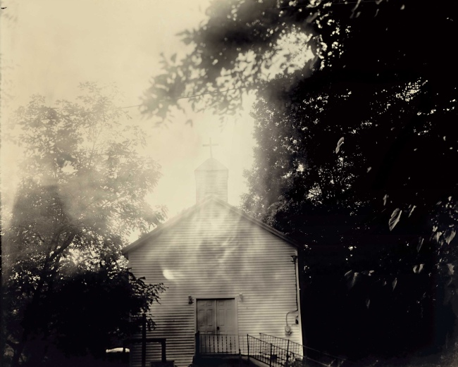 Sally Mann (American, b. 1951) 'Oak Hill Baptist' 2008-2016