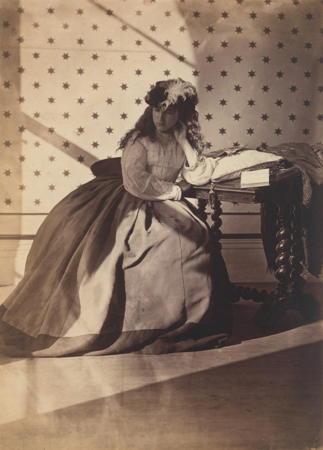 Clementina Hawarden (1822-65) 'Photographic Study (Clementina Maude)' early 1860s