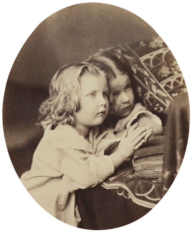 Oscar Rejlander (1813-75) 'Purify my heart' also known as 'The Little Sisters' c. 1862