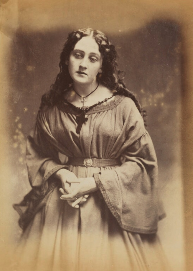 Oscar Rejlander (1813-75) ''A devotee' (Unknown woman)' 1860-1866