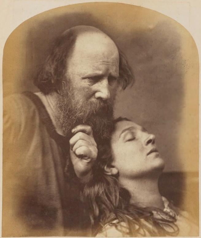 Oscar Rejlander (1813-75) 'Oscar Gustav Rejlander; Mary Rejlander (née Bull)' 1860-1866