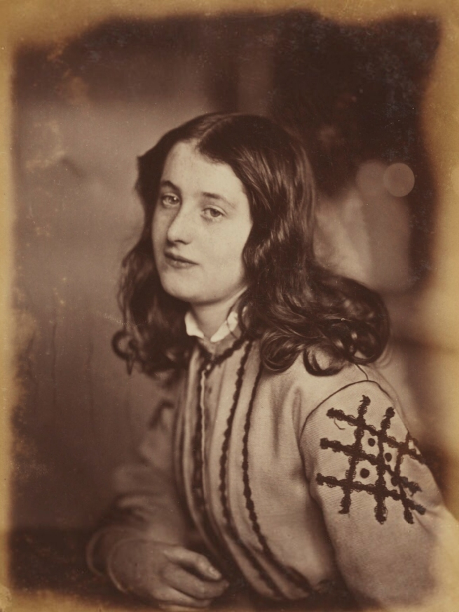 Oscar Rejlander (1813-75) 'Minnie Constable' 1860-1866