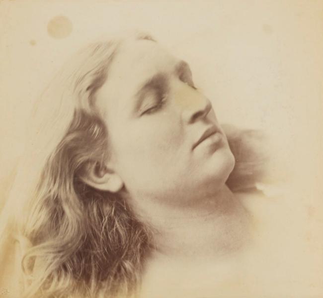 Oscar Rejlander (1813-75) ''Sleep' (Mary Rejlander (née Bull))' c. 1855