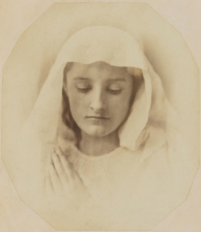 Oscar Rejlander (1813-75) 'The Virgin in prayer' c. 1857