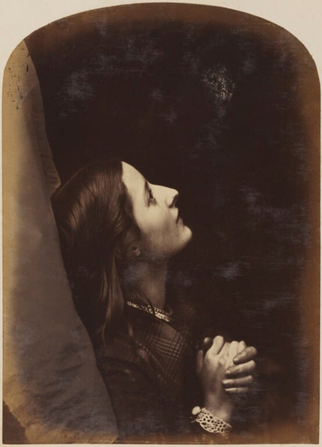 Oscar Rejlander (1813-75) 'Unknown young woman' 1860-1866