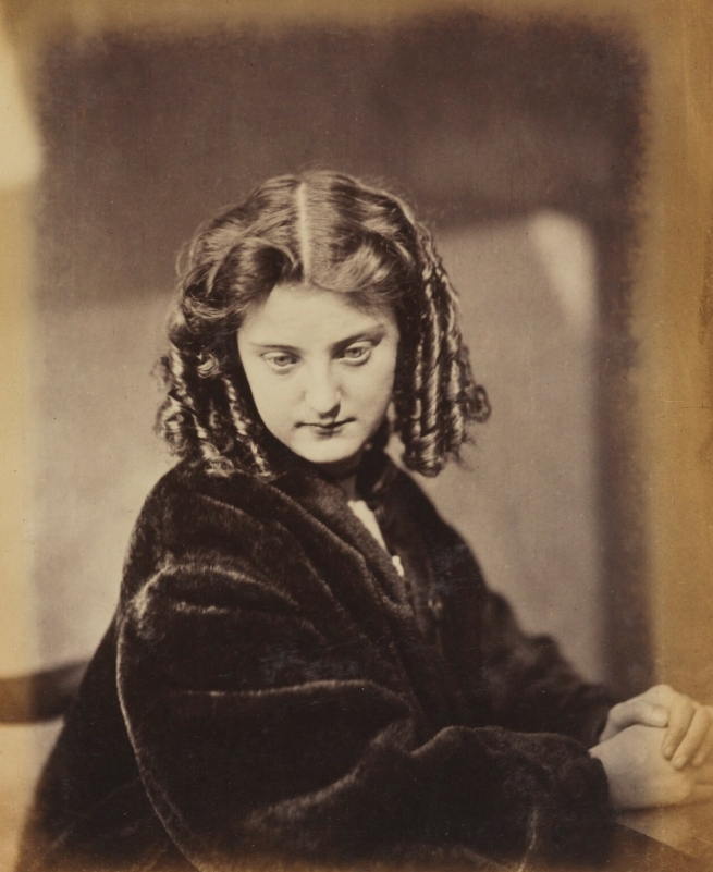 Oscar Rejlander (1813-75) 'Unknown young woman' 1863-1866