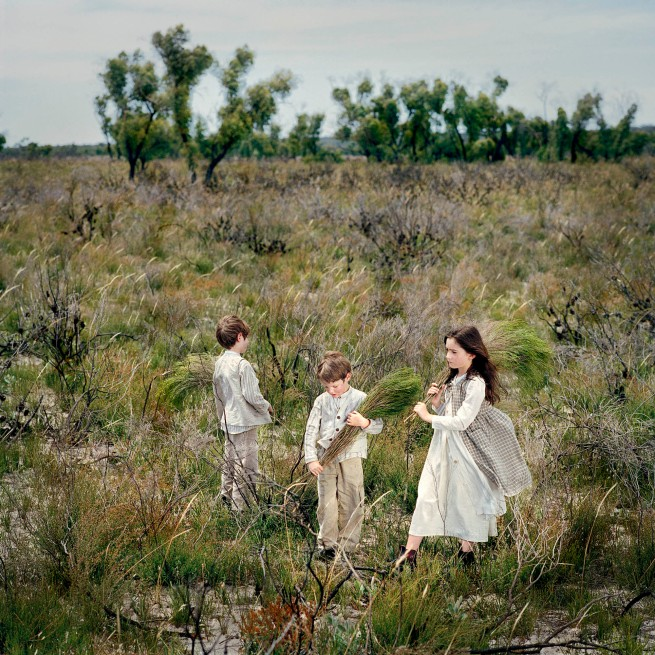 Polixeni Papapetrou. 'In the Wimmera 1864 #1' 2006