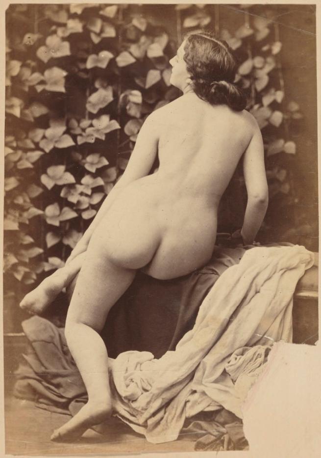 Oscar Rejlander (1813-75) 'Nude female study' c. 1867