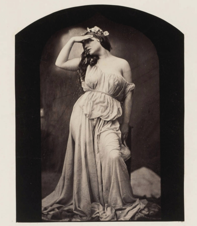 Oscar Rejlander (1813-75) 'The Evening Sun (Iphigenia)' c. 1860