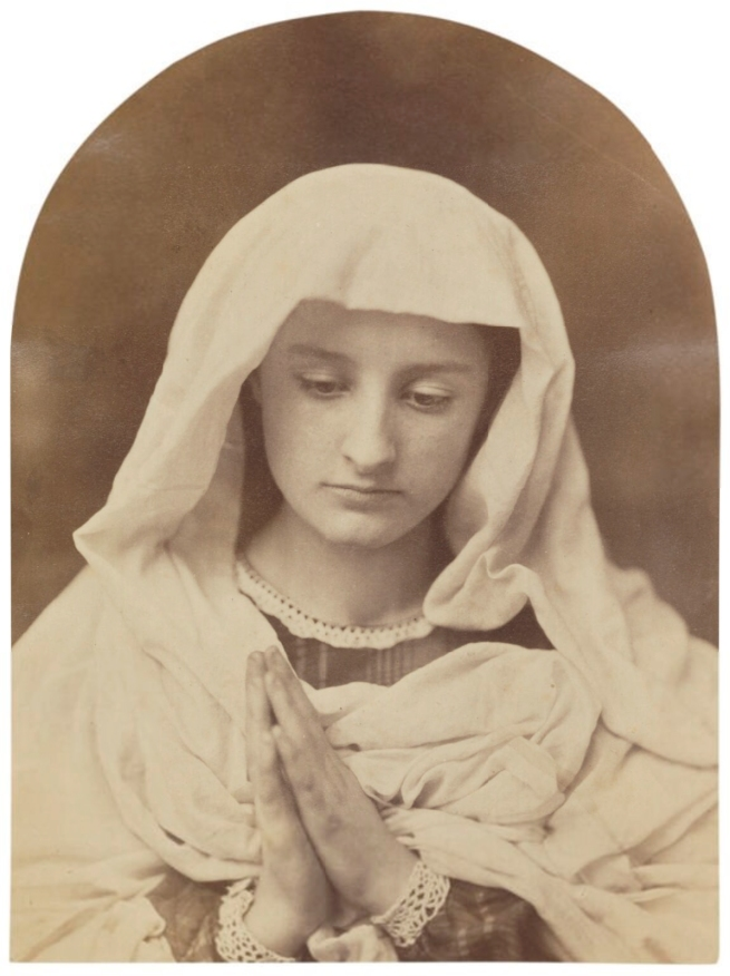 Oscar Rejlander (1813-75) 'The Virgin in prayer (after Sassoferrato)' c. 1857