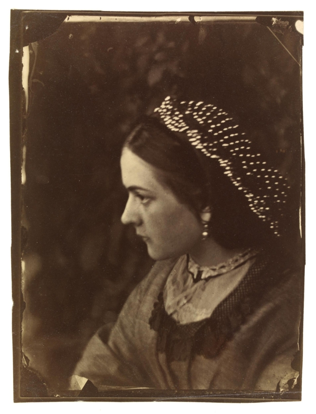 Oscar Rejlander (1813-75) 'Untitled (unknown sitter, possibly Rejlander's wife, Mary)' c. 1863