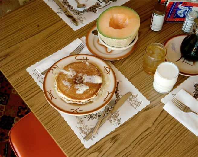 Stephen Shore (American, b. 1947) 'Breakfast, Trail's End Restaurant, Kanab, Utah, August 10, 1973'