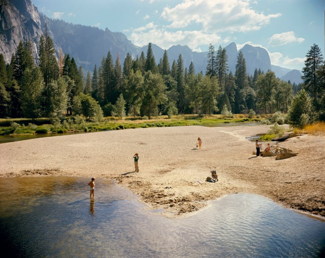 Stephen Shore (American, b. 1947) 'Merced River, Yosemite National Park, California, August 13, 1979'