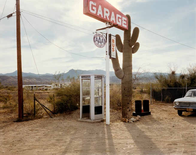 Stephen Shore (American, b. 1947) 'U.S. 93, Wikieup, Arizona, December 14, 1976'