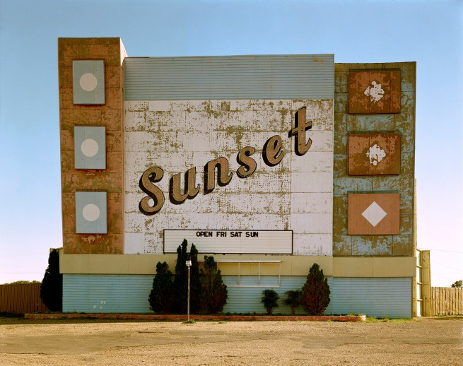 Stephen Shore (American, b. 1947) 'West 9th Avenue, Amarillo, Texas, October 2, 1974'
