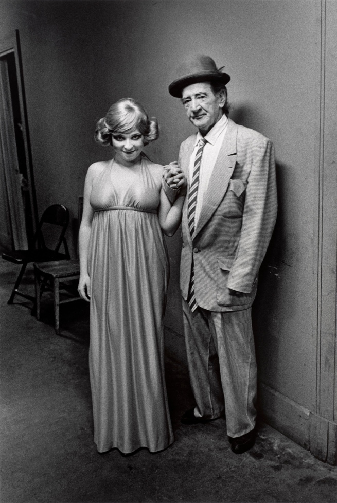 Roswell Angier (American, born in 1940) 'Mr. and Mrs. Steve Mills, Pilgrim Theatre, Boston' 1973