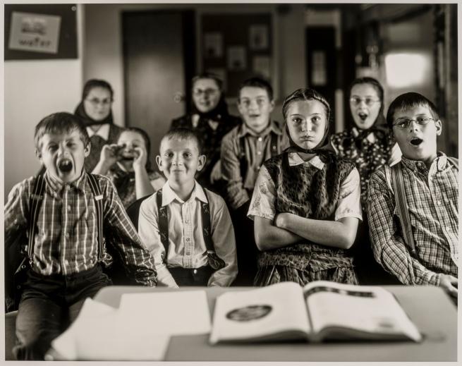 Christopher Churchill (American, born in 1977) 'Hutterite Classroom, Gildford, MT' 2005