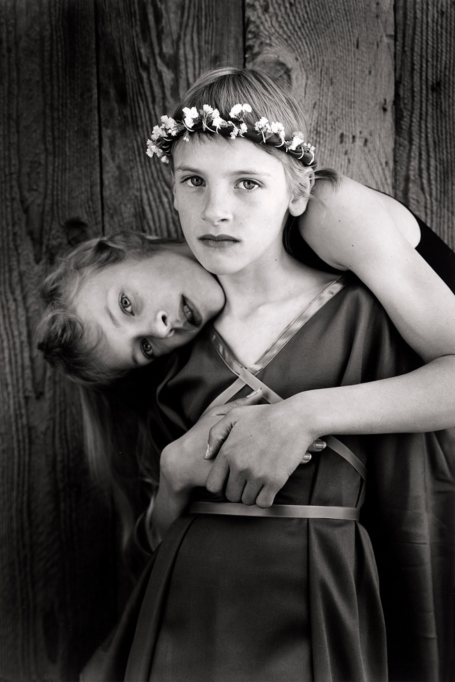 Jock Sturges (American, born in 1947) 'Misty Dawn and Alisa, Northern California' 1989