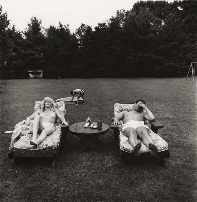 Diane Arbus (1923-71) 'A Family on Their Lawn One Sunday in Westchester, New York 1968' 1968