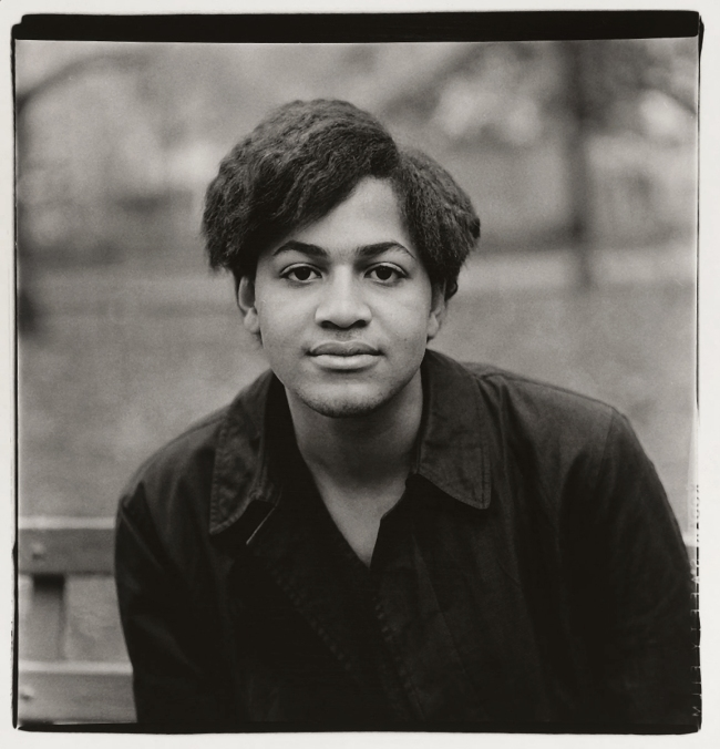 Diane Arbus (1923-71) 'A young Negro boy, Washington Square Park, N.Y.C. 1965' c. 1965