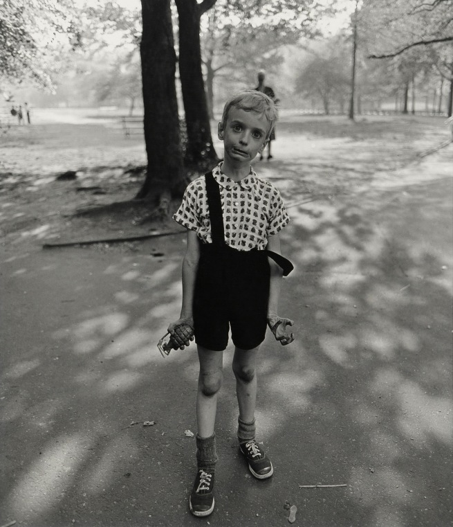 Diane Arbus (1923-71) 'Child with toy hand grenade, in Central Park, New York City 1962' 1962