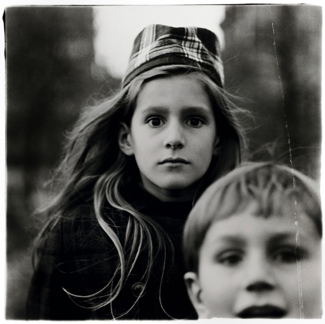 Diane Arbus (1923-71) 'Girl in a watch cap, N.Y.C. 1965' 1965