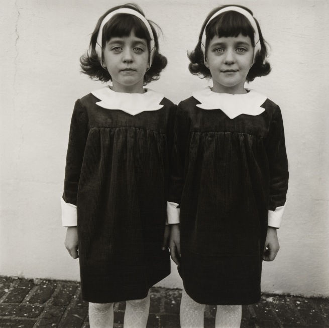 Diane Arbus (1923-71) 'Identical twins, Roselle, N.J., 1966' 1966