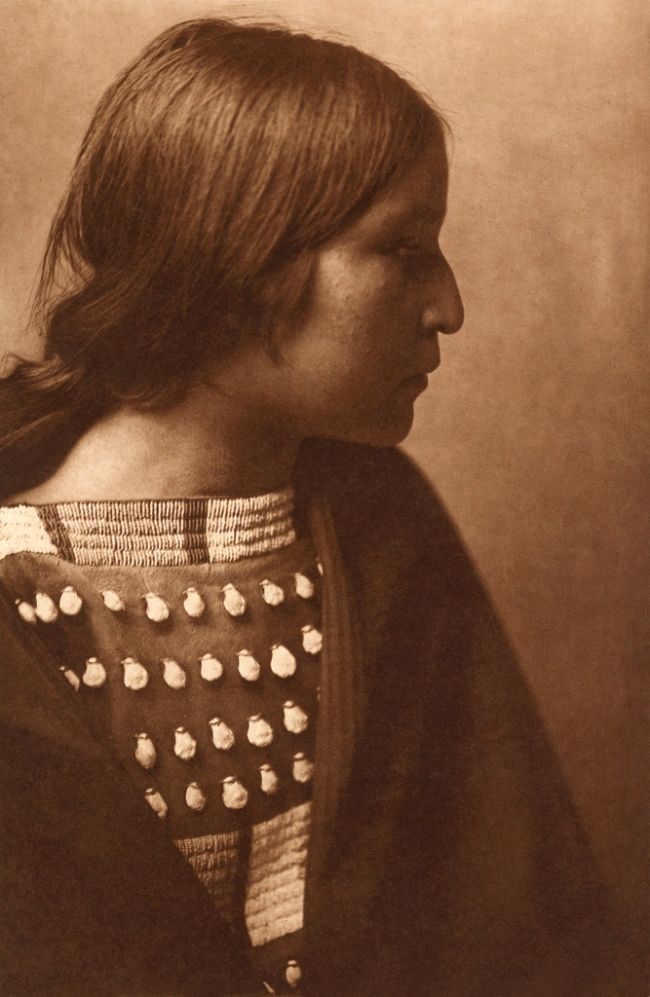 Edward S. Curtis (1868-1952) 'Arikara girl' c. 1908
