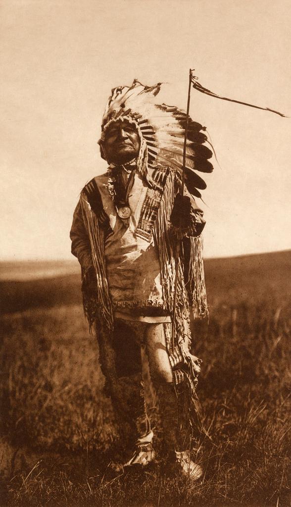 Edward S. Curtis (1868-1952) 'Arikara chief' c. 1908