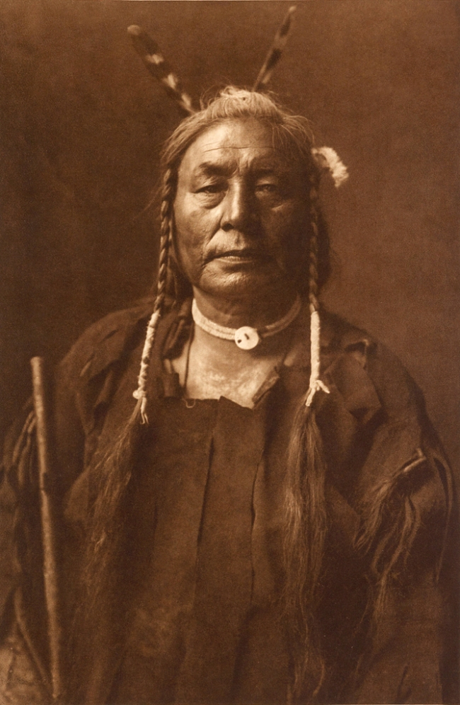 Edward S. Curtis (1868-1952) 'Eagle Child - Atsina' c. 1908
