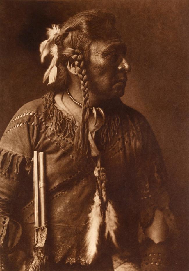 Edward S. Curtis (1868-1952) 'Horse Capture - Atsina' c. 1908