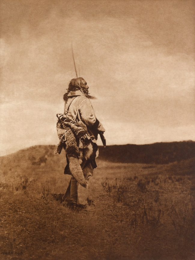 Edward S. Curtis (1868-1952) 'The scout - Atsina' c. 1908
