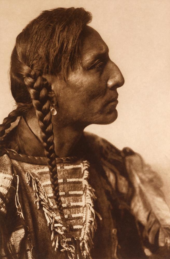 Edward S. Curtis (1868-1952) 'Spotted Bull - Mandan' c. 1908