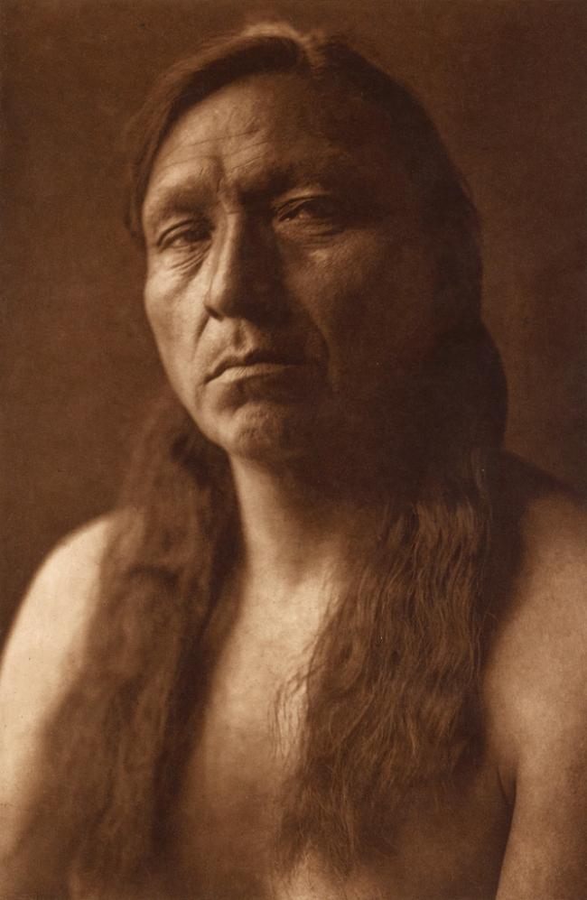 Edward S. Curtis (1868-1952) 'Four Horns - Arikara' c. 1908