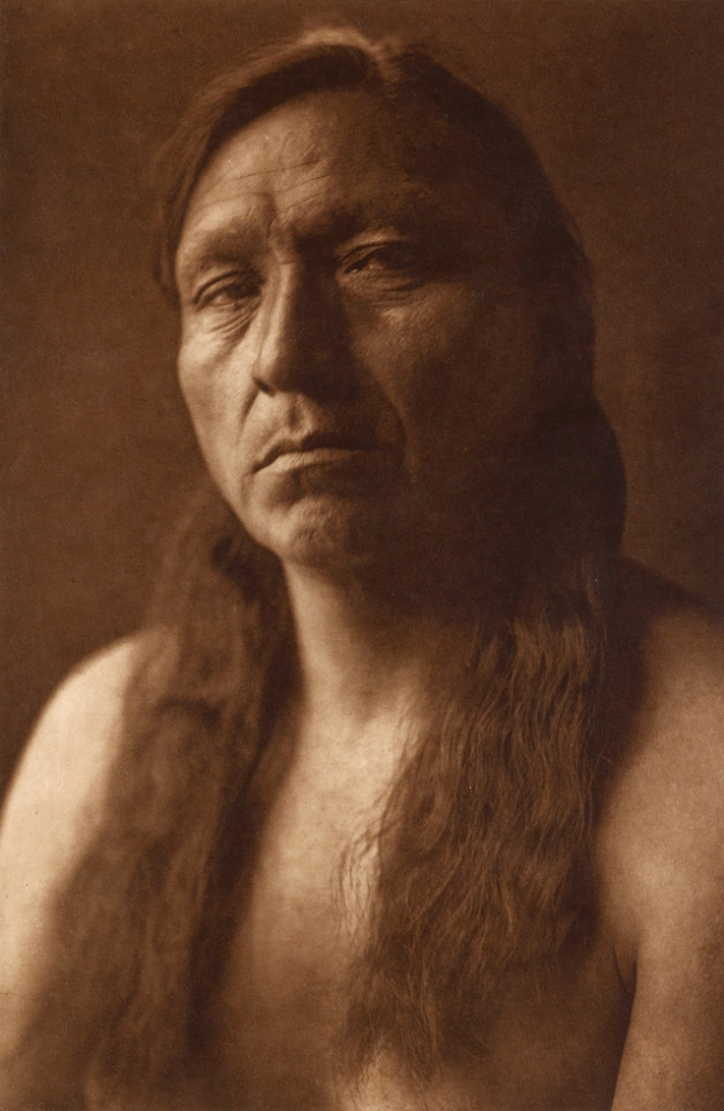 Edward S. Curtis (1868-1952) 'Four Horns - Arikara' c. 1908