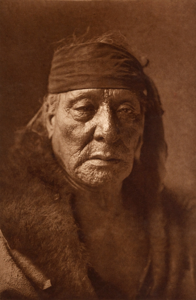 Edward S. Curtis (1868-1952) 'Bear's Teeth - Arikara' c. 1908