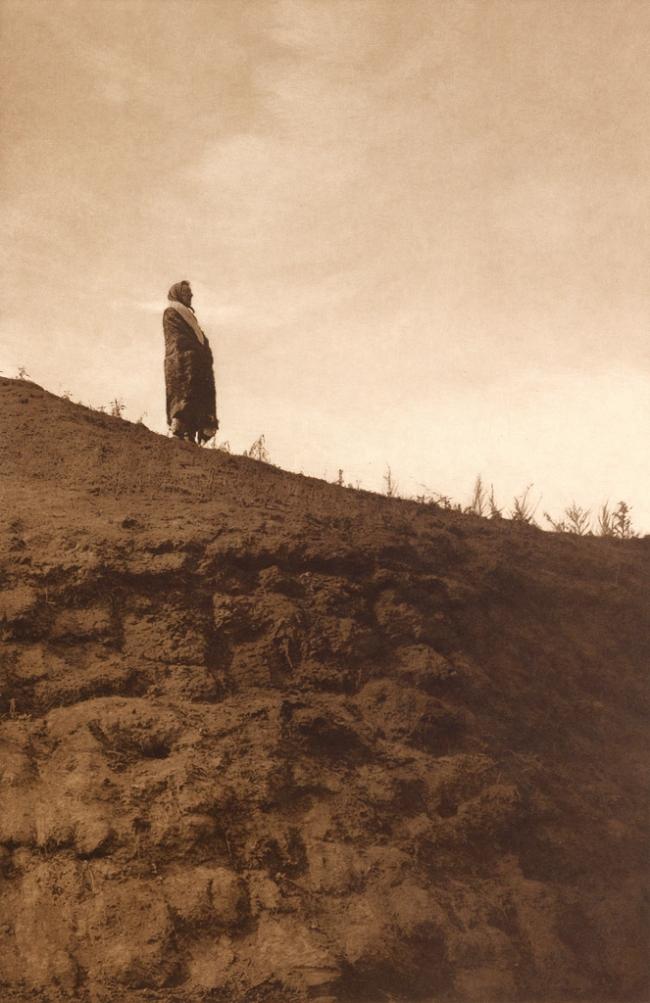 Edward S. Curtis (1868-1952) 'Announcement - Arikara' c. 1908