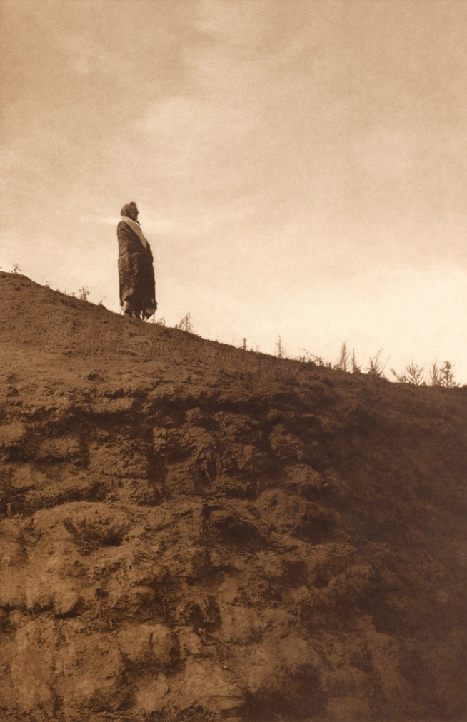 Edward S. Curtis (1868-1952) 'Announcement - Arikara' c. 1908
