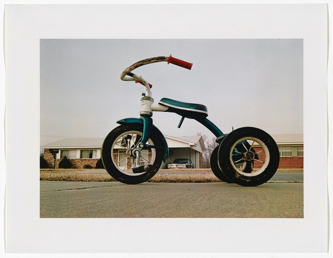 William Eggleston (America, born July 27, 1939) 'Memphis' c. 1970 printed 1980