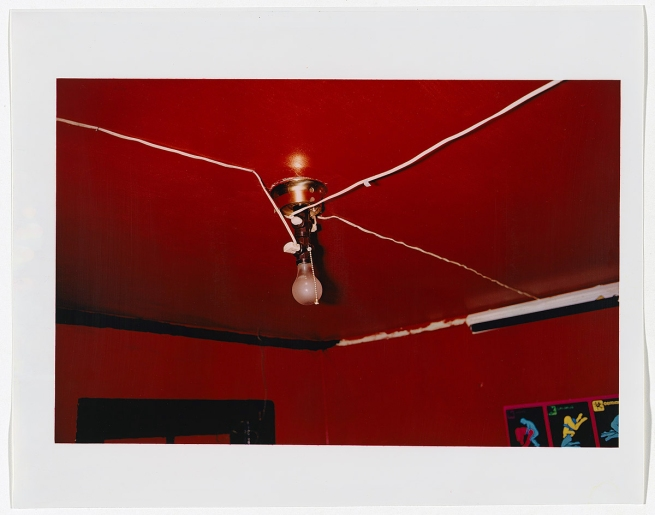 "William Eggleston (America,born July 27, 1939) 'Greenwood, Mississippi' [""The Red Ceiling""] 1973, printed 1979"