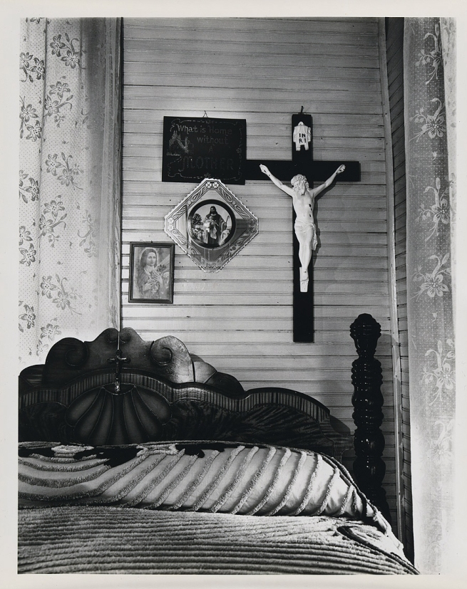 Walker Evans (1903-1975) 'Bedroom, shrimp fisherman's house, Biloxi, Mississippi' 1945