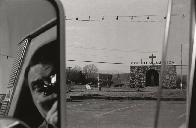 Lee Friedlander (born July 14, 1934) 'Rt. 9w, N.Y.' 1969