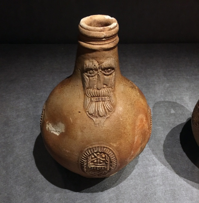 Unknown 'Beardman jug, from the wreck site of Vergulde Draeck' before 1656