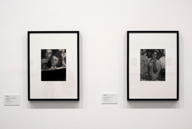 Installation view of the exhibition 'Diane Arbus: American Portraits' at the Heide Museum of Modern Art, Melbourne