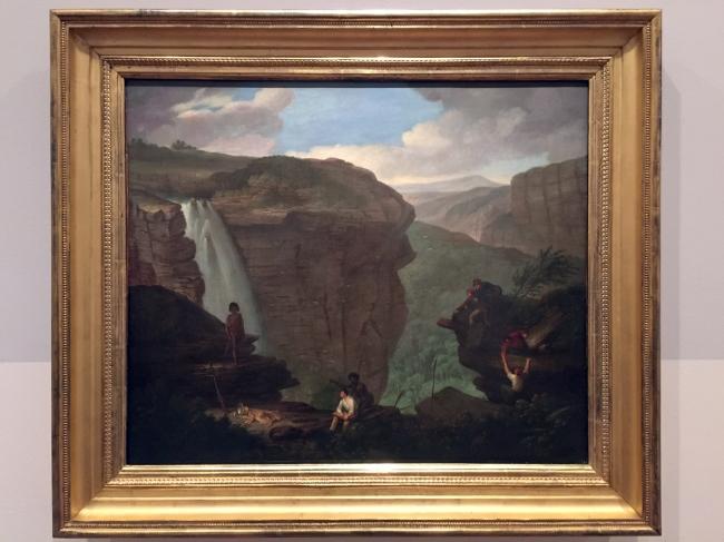 Augustus Earle (England 1793-1838, Brazil 1820-24, Australia 1825-28) 'Wentworth Falls' c. 1830 (installation view)
