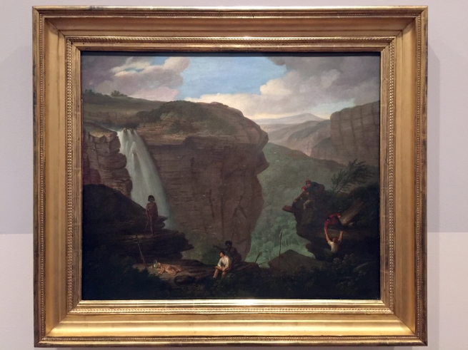 Augustus Earle (England 1793-1838, Brazil 1820-24, Australia 1825-28) 'Wentworth Falls' c. 1830 (installation view)