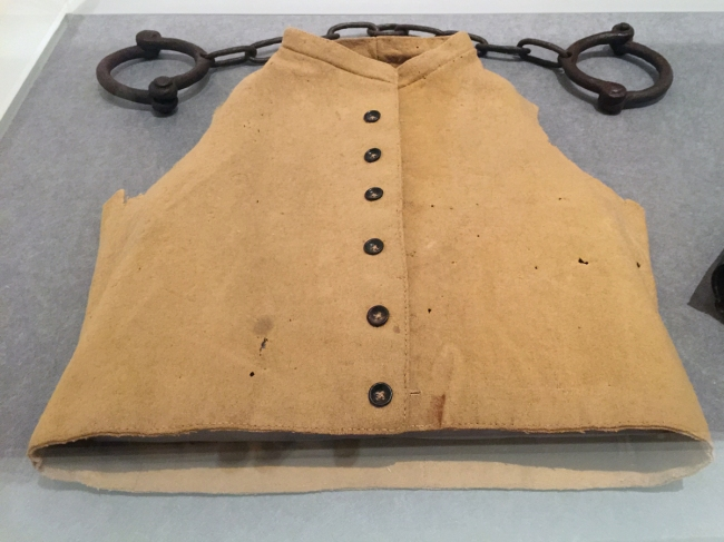 Unknown, Tasmania. 'Waistcoat' mid 19th century (installation view)