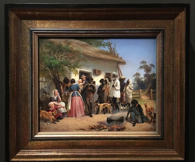 Alexander Schramm (Germany 1813 - Australia 1864, Australia from 1849) 'A scene in South Australia' c. 1850 (installation view)
