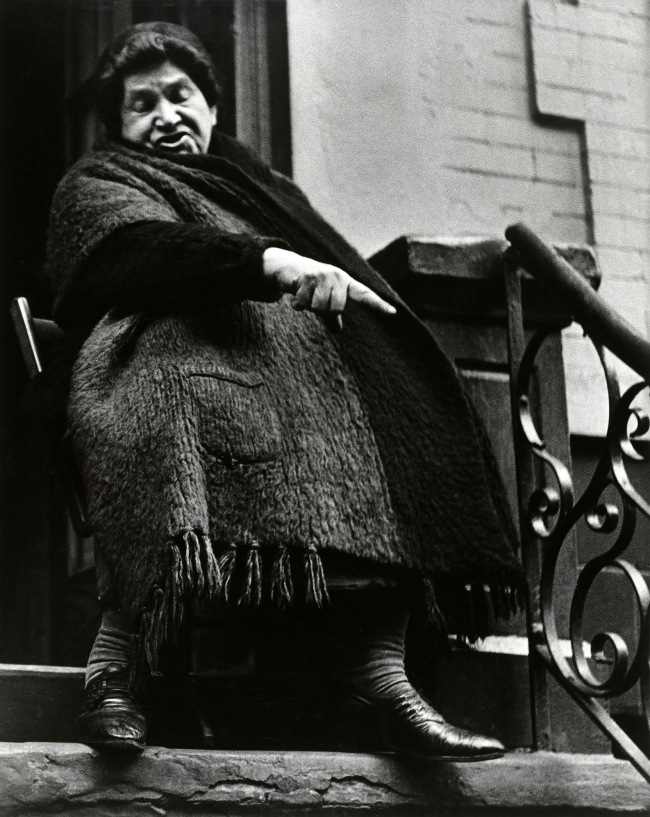 Lisette Model (1901-1983) 'Lower East Side, New York' 1942