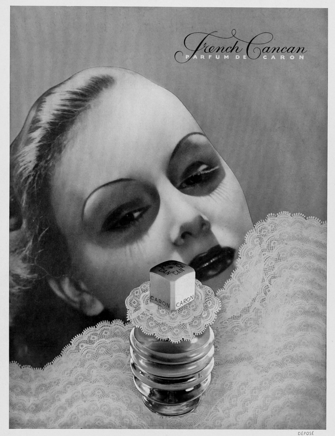 Unknown Advert for the Parfume French Cancan in the 'Magazine L'Illustration' 1935